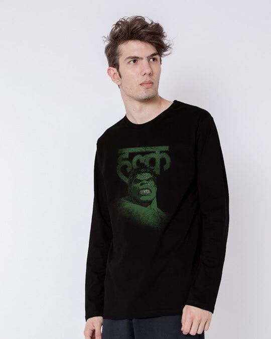 Shop Desi Hulk Full Sleeve T-Shirt (AVL)-Back