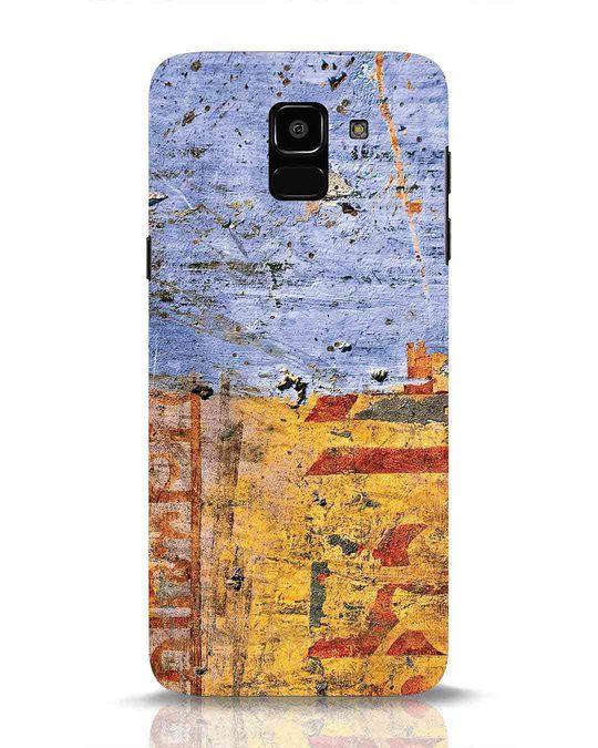 Shop Desi Texture Samsung Galaxy J6 Mobile Cover-Front