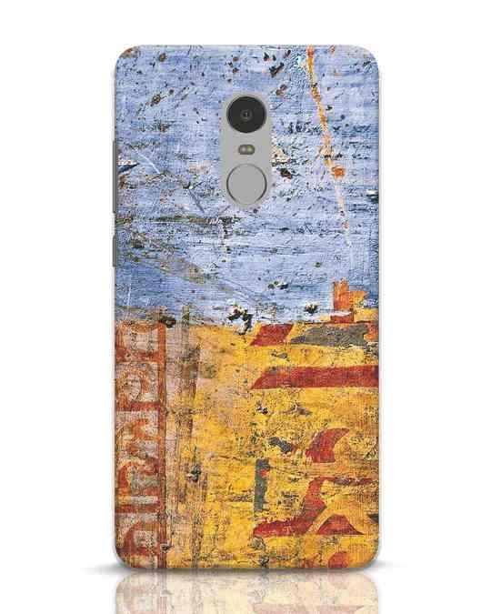 Shop Desi Texture Xiaomi Redmi Note 4 Mobile Cover-Front