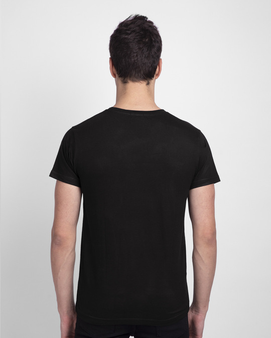 Shop Destination - Isolation Half Sleeve T-Shirt Black-Back