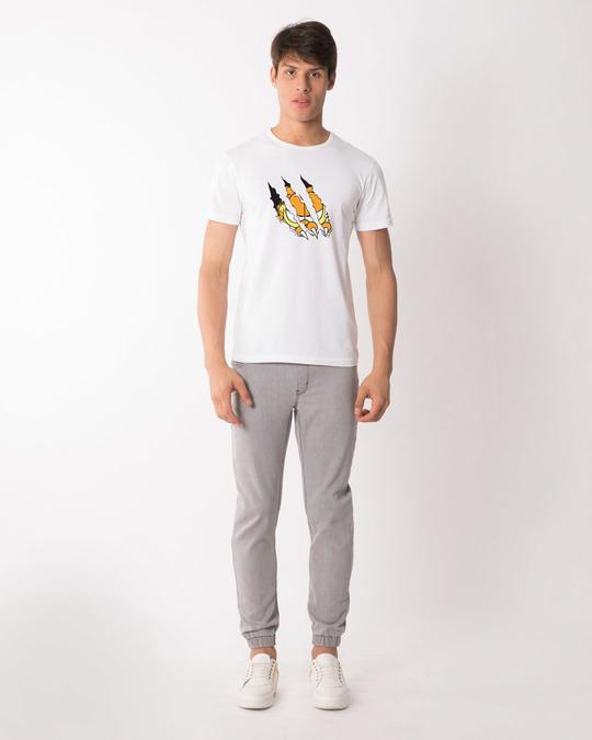 Shop Devil Smirk Half Sleeve T-Shirt (GL)