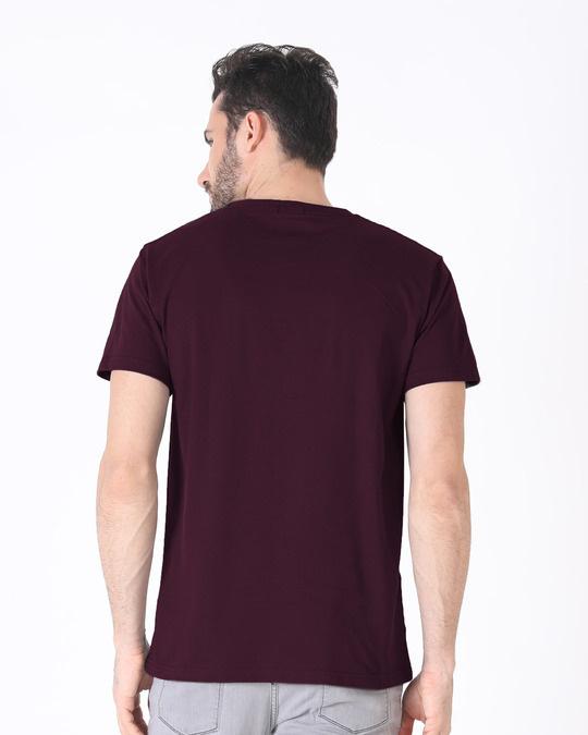 Shop Devil Smirk Half Sleeve T-Shirt (GL)-Full