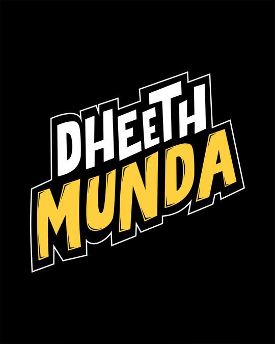 Shop Dheeth Munda Half Sleeve T-Shirt