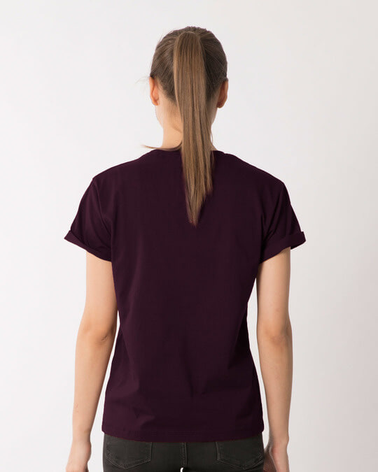Shop Dhoya Tulshi Pata Boyfriend T-Shirt-Back