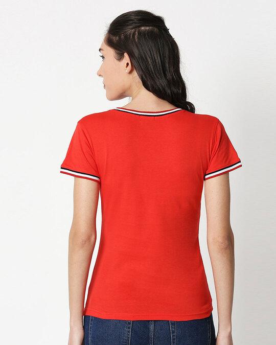 Shop Diet Kick Jerry Crewneck Varsity Rib H/S T-Shirt (TJL) Multicolor-Back