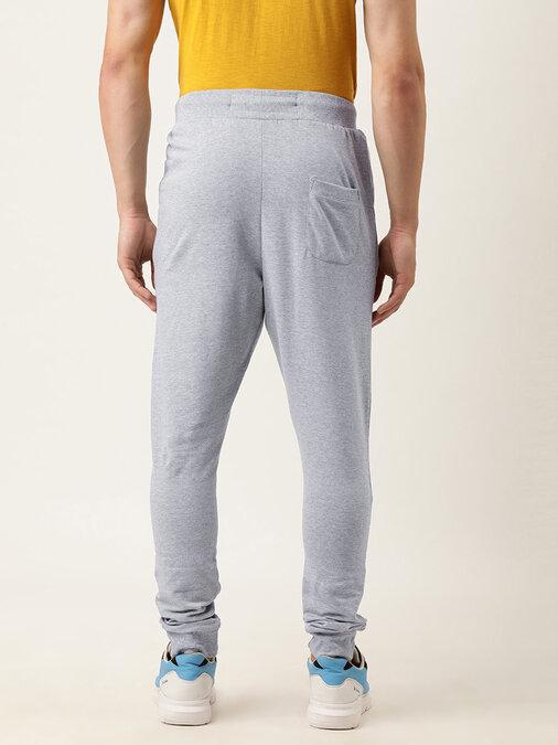 Shop Men's Grey Solid Joggers-Design