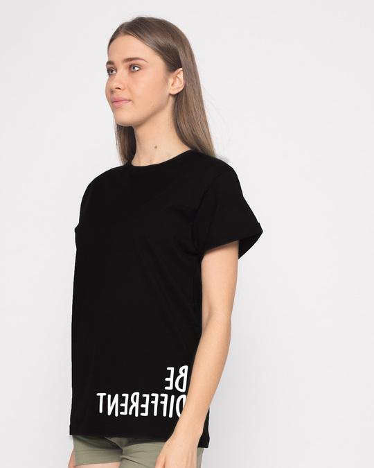 Shop Different Mirror Boyfriend T-Shirt-Back