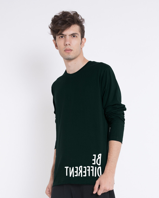 Shop Different Mirror Full Sleeve T-Shirt-Back