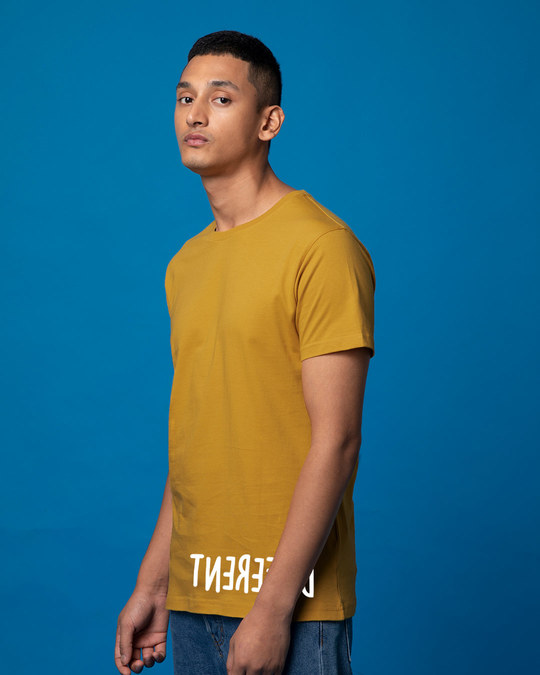 Shop Different Mirror Half Sleeve T-Shirt-Full