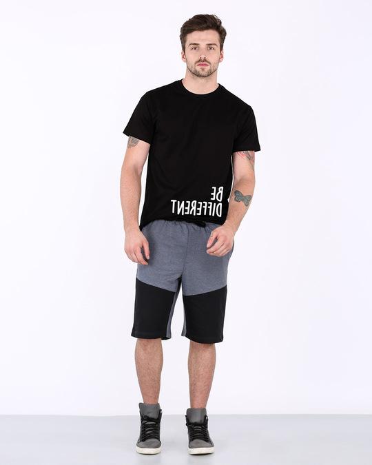 Shop Different Mirror Half Sleeve T-Shirt