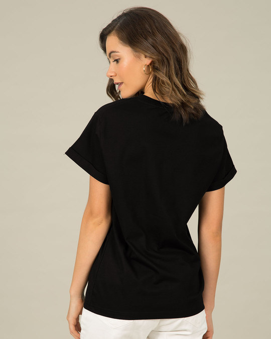 Shop Difficult Roads Boyfriend T-Shirt-Back