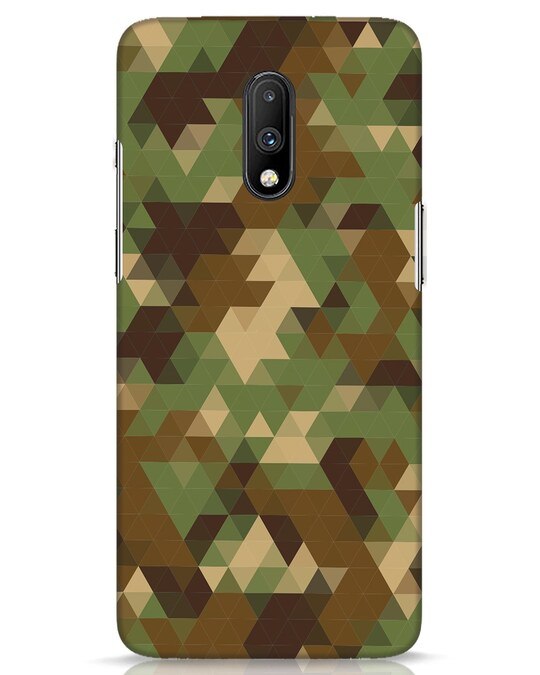Shop Digital Camo OnePlus 7 Mobile Cover-Front