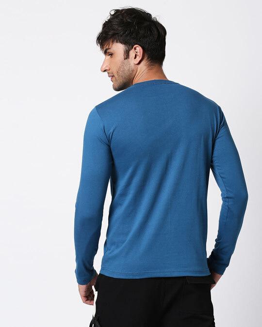 Shop Digi Teal Full Sleeve T-Shirt