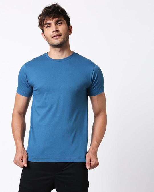 Shop Digi Teal Half Sleeve T-Shirt-Design