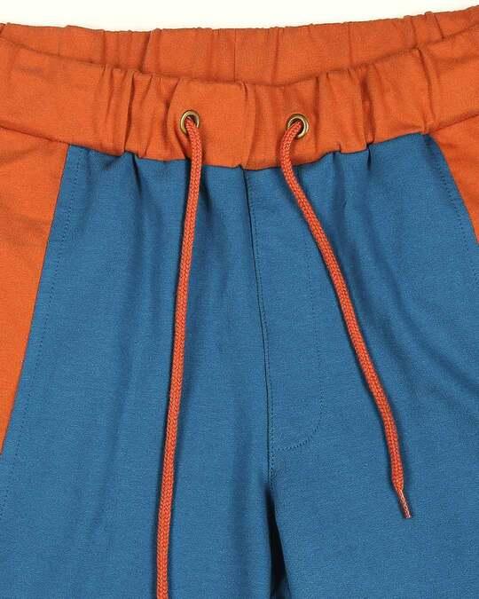 Shop Digi Teal Color Block Pocket Jogger