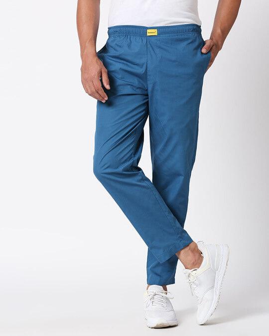 Shop Digital Teal Plain Pyjama-Design