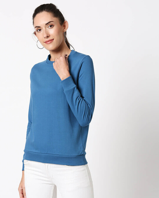 Shop DIgi Teal Fleece Sweater-Design