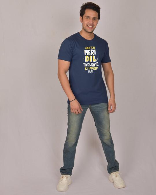 Shop Dil Tudwane Ki Umar Half Sleeve T-Shirt-Design