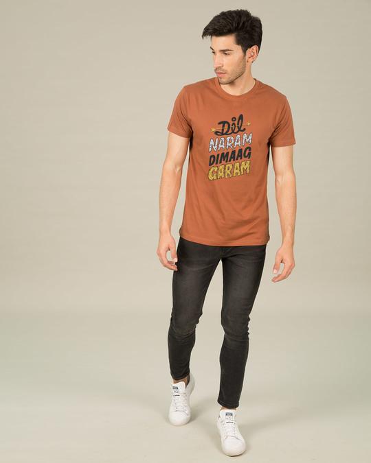 Shop Dimaag Garam Half Sleeve T-Shirt-Design