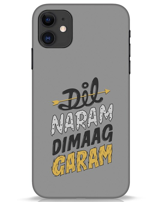 Shop Dimaag Garam iPhone 11 Mobile Cover-Front