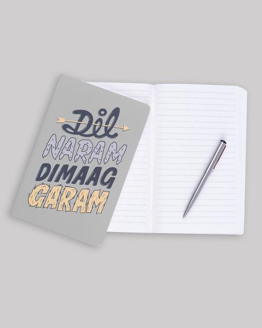Shop Dimaag Garam Notebook-Design