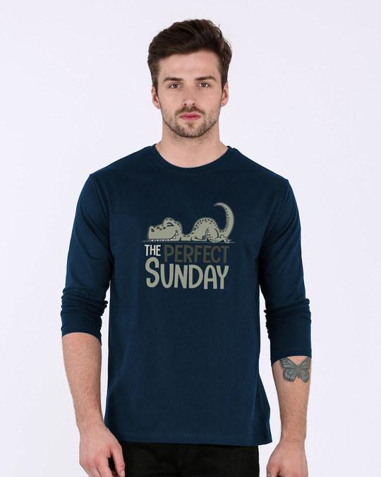Shop Dino Sunday Full Sleeve T-Shirt-Front