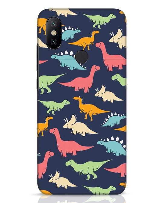 Shop Dinos Xiaomi Mi A2 Mobile Cover-Front