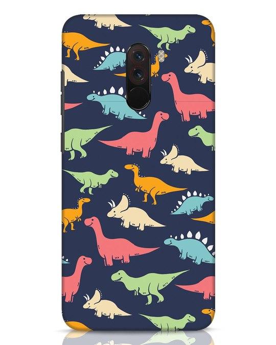 Shop Dinos Xiaomi POCO F1 Mobile Cover-Front