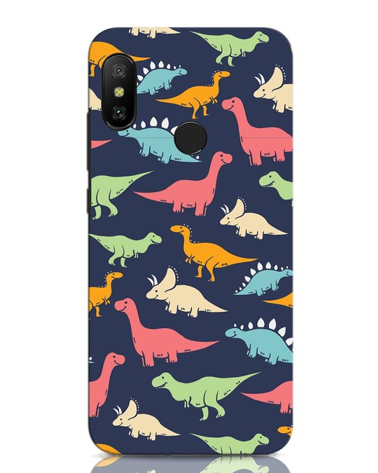 Shop Dinos Xiaomi Redmi Note 6 Pro Mobile Cover-Front