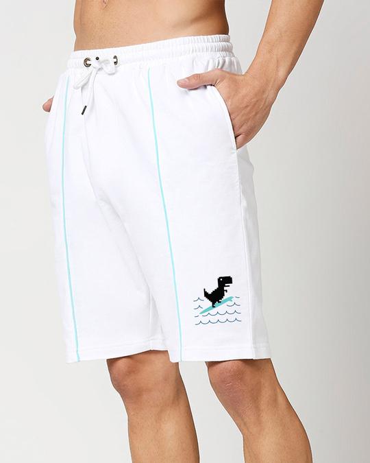 Shop Dinosurf Color Block Shorts-Front