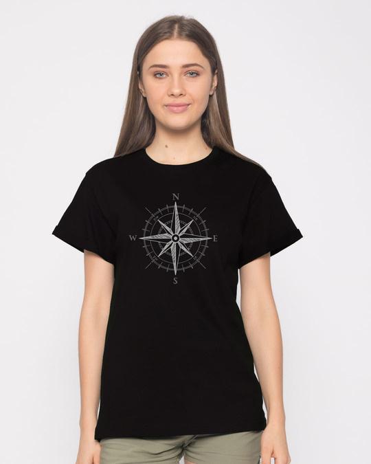 Shop Direction Boyfriend T-Shirt-Front