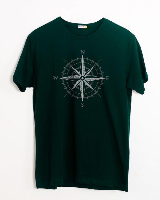 Shop Direction Half Sleeve T-Shirt-Front