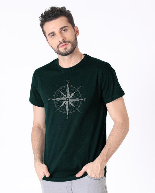 Shop Direction Half Sleeve T-Shirt-Full