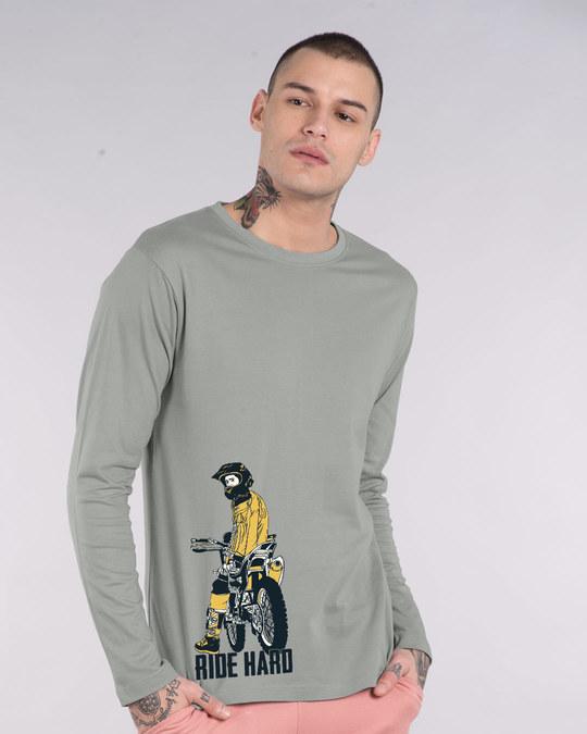 Shop Dirt Bike Full Sleeve T-Shirt-Front