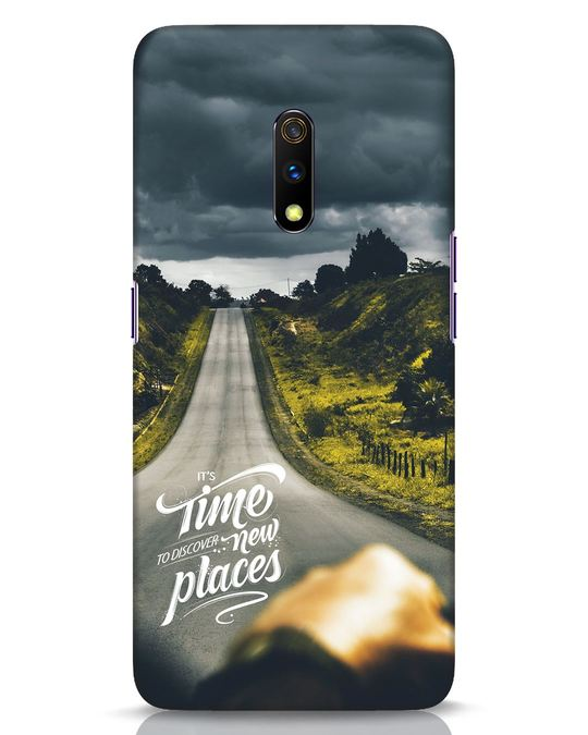 Shop Discover New Places Realme X Mobile Cover-Front