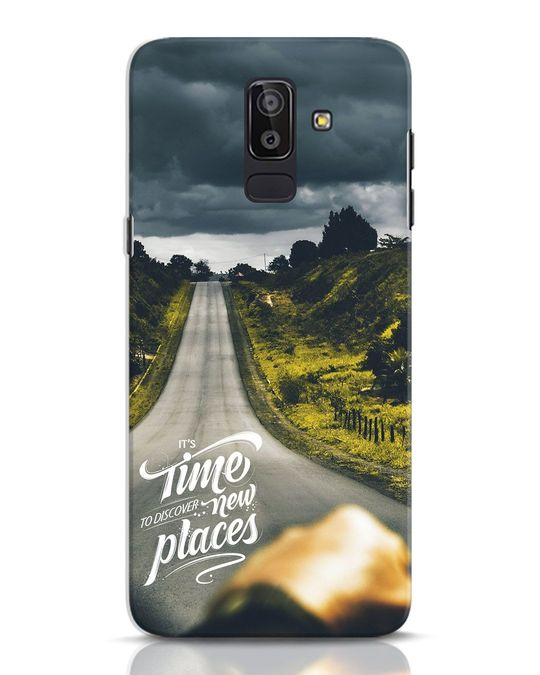 Shop Discover New Places Samsung Galaxy J8 Mobile Cover-Front