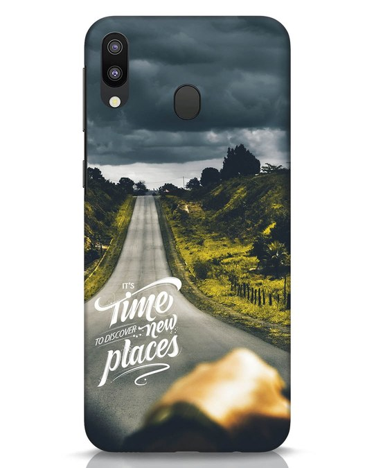 Shop Discover New Places Samsung Galaxy M20 Mobile Cover-Front