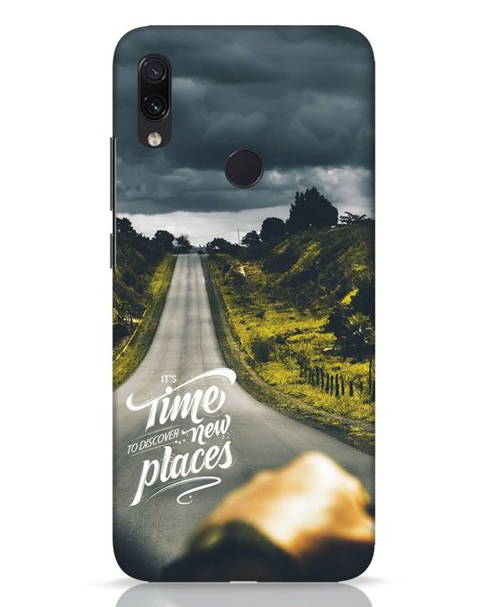 Shop Discover New Places Xiaomi Redmi Note 7 Pro Mobile Cover-Front