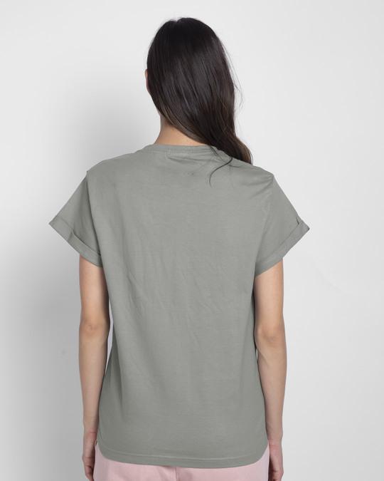 Shop Disobey Boyfriend T-Shirt (SWL)-Back
