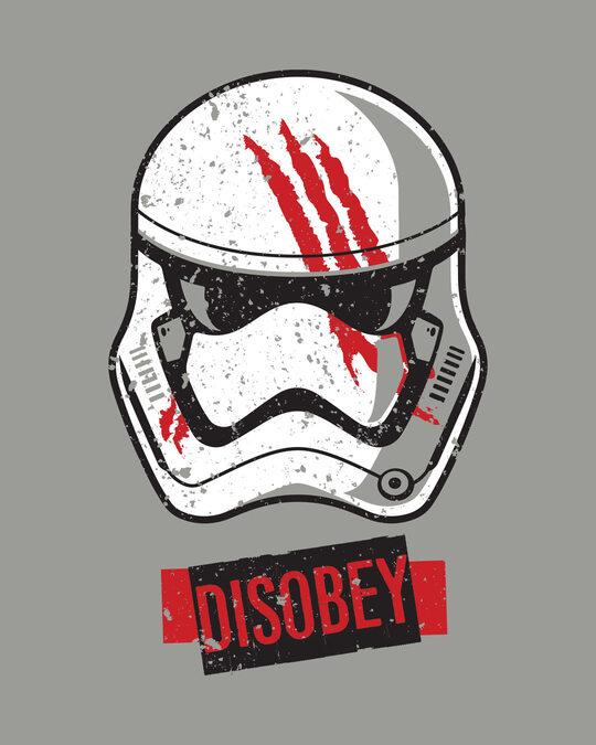 Shop Disobey Boyfriend T-Shirt (SWL)