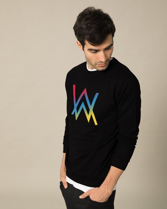 Shop Dj Aln Wkr Sweatshirt-Back