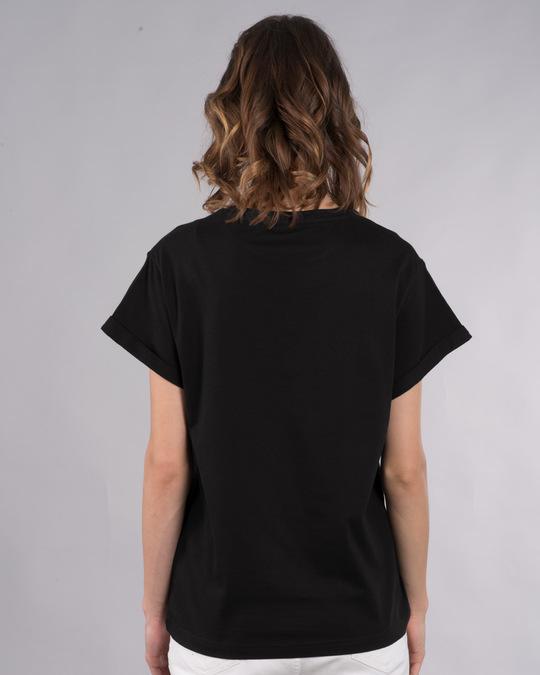 Shop Dj Dude Boyfriend T-Shirt-Back