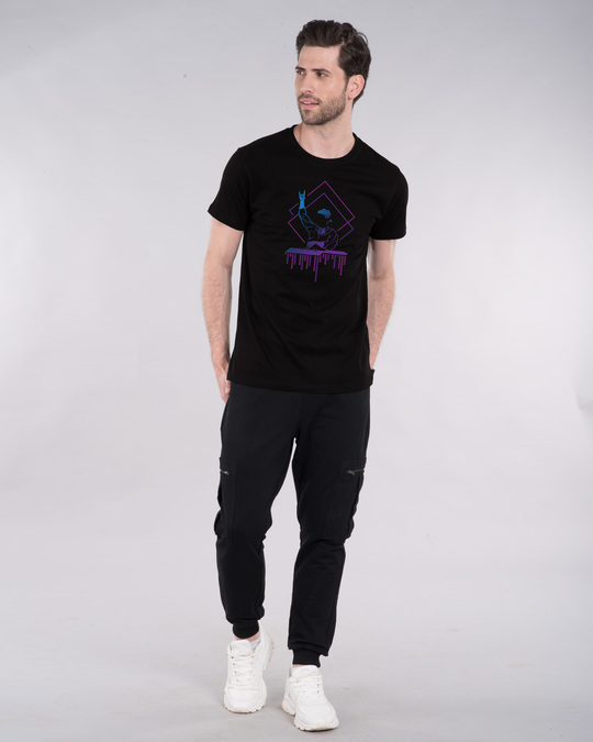 Shop Dj Dude Half Sleeve T-Shirt-Design