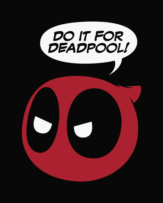 Shop Do It For Deadpool Side Printed Boxer (DPL)