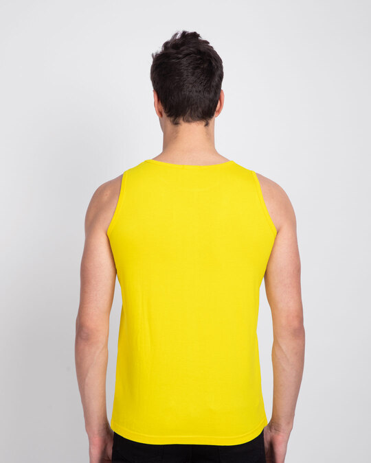 Shop Do It With Passion Round Neck Vest Pineapple Yellow -Design
