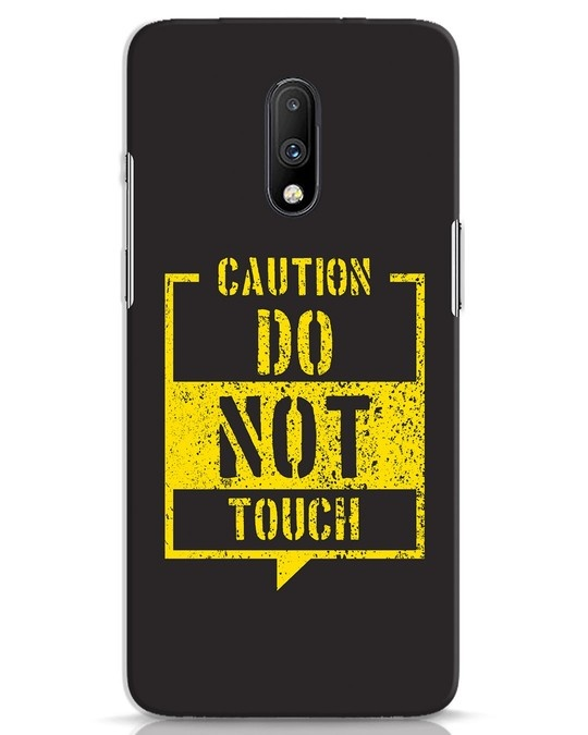 Shop Do Not Touch OnePlus 7 Mobile Cover-Front