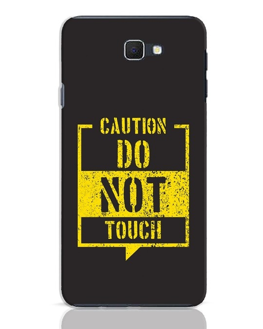 Shop Do Not Touch Samsung Galaxy J7 Prime Mobile Cover-Front