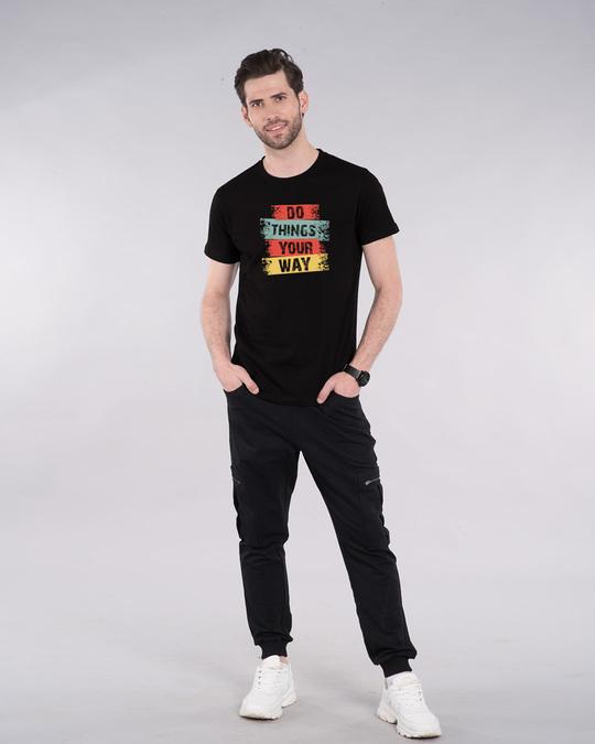 Shop Do Things Half Sleeve T-Shirt-Design