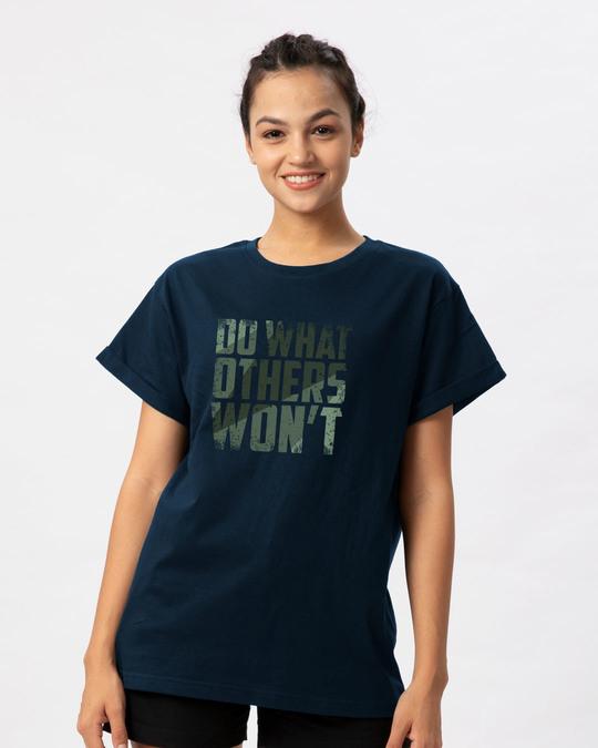 Shop Do What Boyfriend T-Shirt-Front