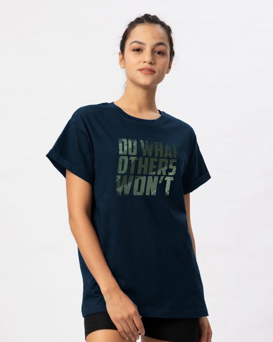 Shop Do What Boyfriend T-Shirt-Back